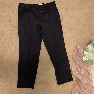 Authentic Burberry London Dark Blue Dress Pants